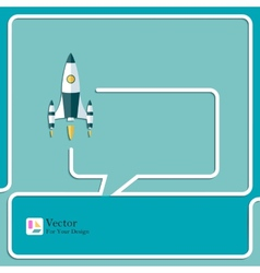 Start up new project speech bubbles and chat vector