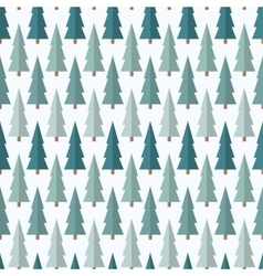 Christmas tree pattern vector