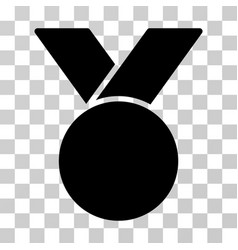 Army medal icon vector