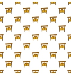 Cowboy door pattern cartoon style vector image vector image