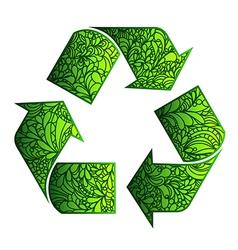 Eco design element vector