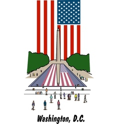 Washington dc vector