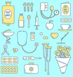 Ill design vector image