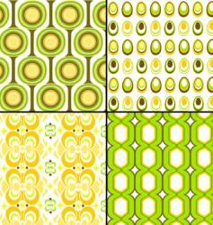 retro citrus pack vector image