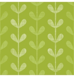 Abstract textile green vines leaves seamless vector