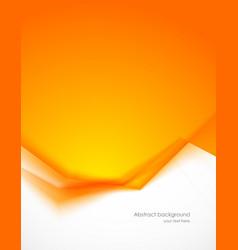 Orange background vector image