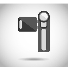 Camera isolated vector