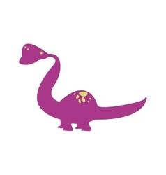 Cute dinosaur toy vector