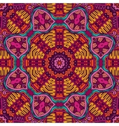 Abstract colorful ethnic tribal pattern vector image vector image