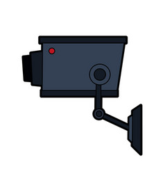 Security or surveillance camera icon image vector