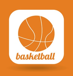 ball sport design vector image