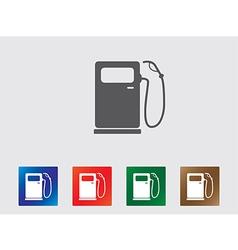 Petrol pump icons vector