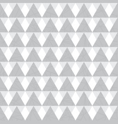 Silver grey geometric triangles seamless vector