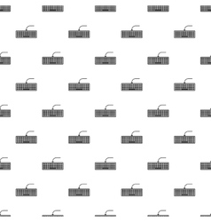 Socket for monitor pattern simple style vector