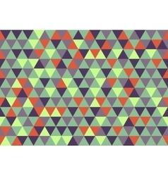 Retro triangle pattern christina vector
