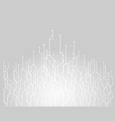 Abstract technology background graphic connecting vector