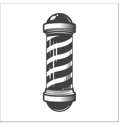 Barber shop pole vector