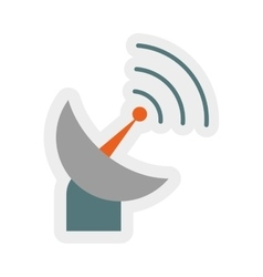 Antenna icon Communication design graphic vector image