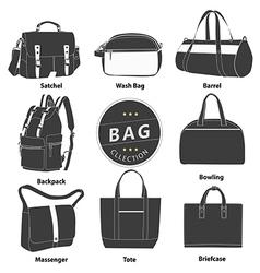 Bag 03 b w 01 vector