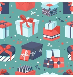 Gift box icons set vector image vector image