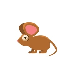 Mouse Simplified Cute vector image vector image