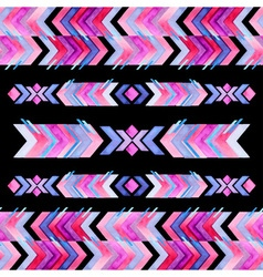 Navajo aztec textile inspiration pattern Native vector image vector image
