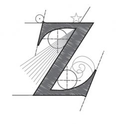 z vector image vector image