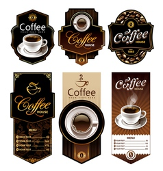 Coffee banners 1 vector