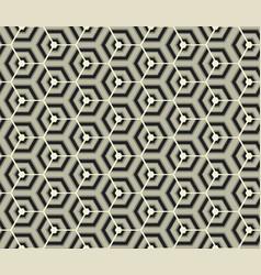 Retro wallpaper - vintage pattern black and white vector