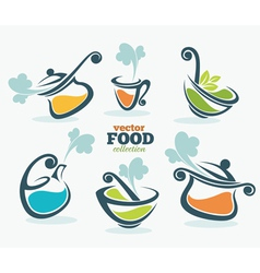 fresh food vector image