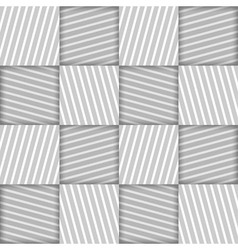 Abstract striped squares geometric seamless vector