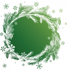 christmas vector banners design element vector image