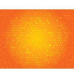 Orange geometric background Abstract pattern vector image vector image
