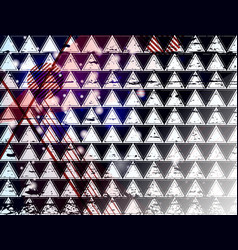 triangle 12 vector image vector image