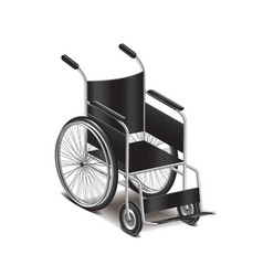 Wheelchair isolated vector