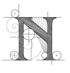 n vector image