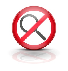 Anti spyware icon symbol vector