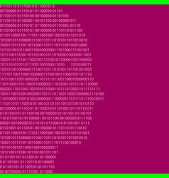 binary code head vector image