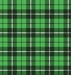 Green tartan fabric texture pattern seamless vector