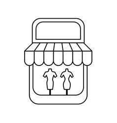 Shop store symbol vector