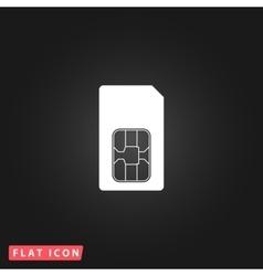 Sim card icon vector