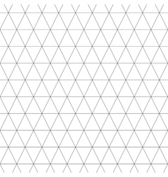 Triangle geometric seamless pattern 3207 vector image