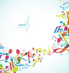 Abstract backgrounds with colorful tunes vector