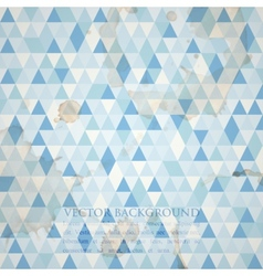 Abstract blue mosaic background vector