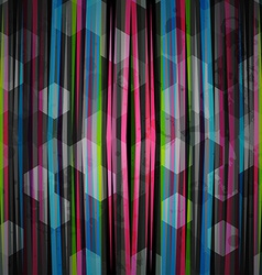 Abstract neon pattern vector