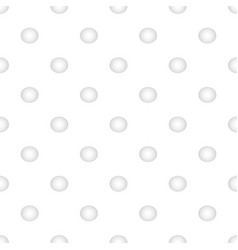 White seamless texture with round vector