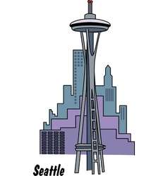 Seattle washington vector