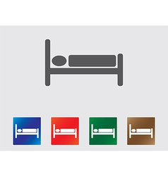 Sleep icons vector