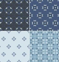 Pattern Set vector image