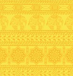 Seamless pattern with asian ornament vector